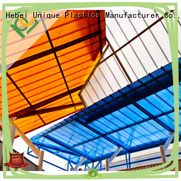 UNQ buy polycarbonate sheets Suppliers for building interior decoration