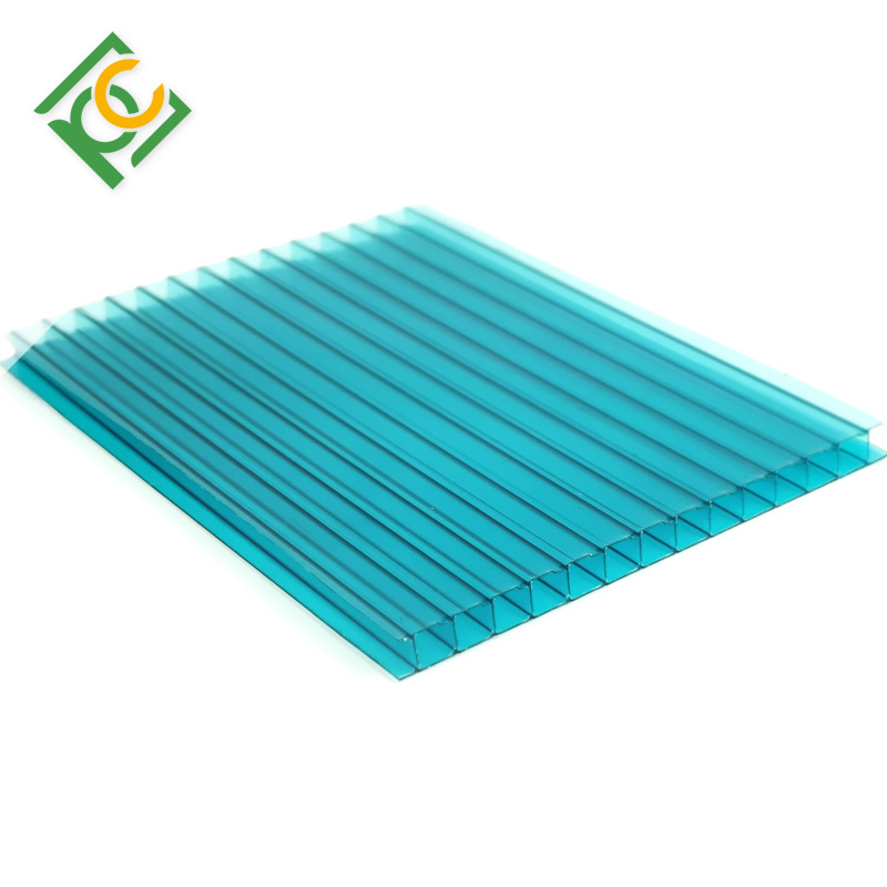 multiwall polycarbonate hollow sheet for greehouse,carport and awnings