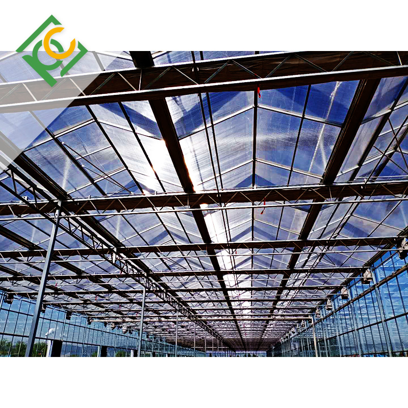 UNQ triple wall polycarbonate manufacturers for railway station and aviation overpass-2
