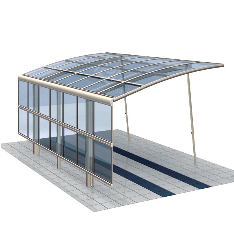 UNQ Wholesale double carport size Suppliers for car park-1
