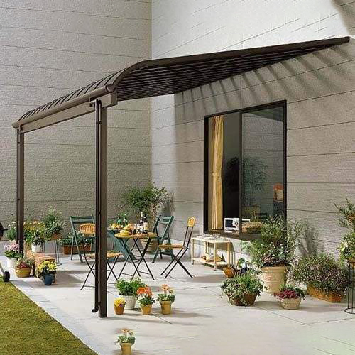 UNQ Latest smoked polycarbonate sheet factory for private garden-2