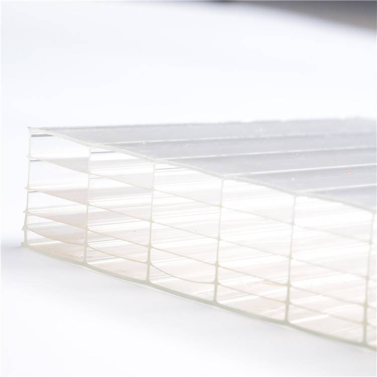 FOUR-WALL Hollow Polycarbonate Sheet pc lite polycarbonate hollow sheet