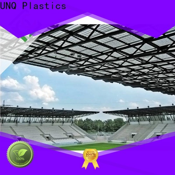 UNQ plastic perspex sheets Suppliers for commercial buildings