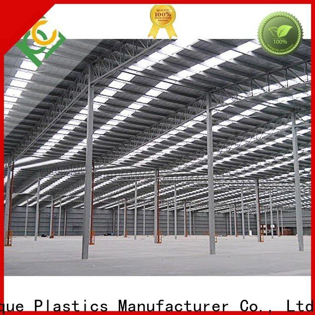 Top embossed polycarbonate sheet company for metal roof with lighting