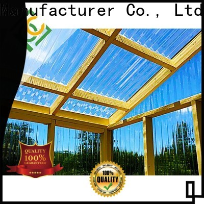 UNQ polycarbonate sheet sydney company for air transparent container
