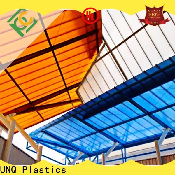 UNQ cutting acrylic sheets Suppliers for building interior decoration