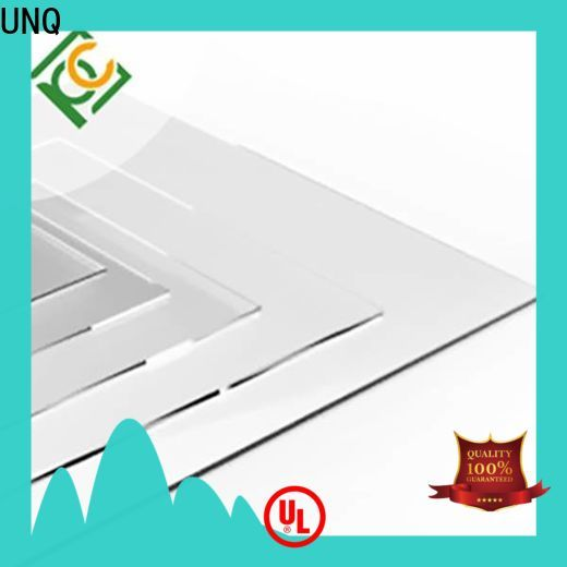 UNQ polycarbonate roofing sheets in hyderabad factory for LED panel board