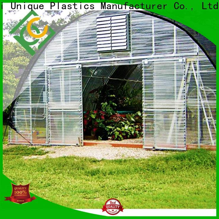 UNQ High-quality polycarbonate sheets for greenhouse company for metal roof with lighting