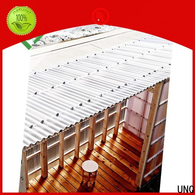 UNQ high quality polycarbonate for business for commercial buildings