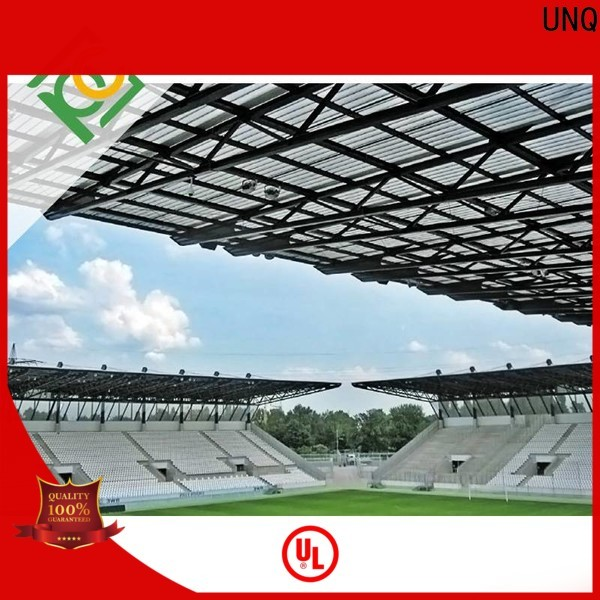 UNQ Best suntuf polycarbonate panels factory for agricultural vegetable greenhouse