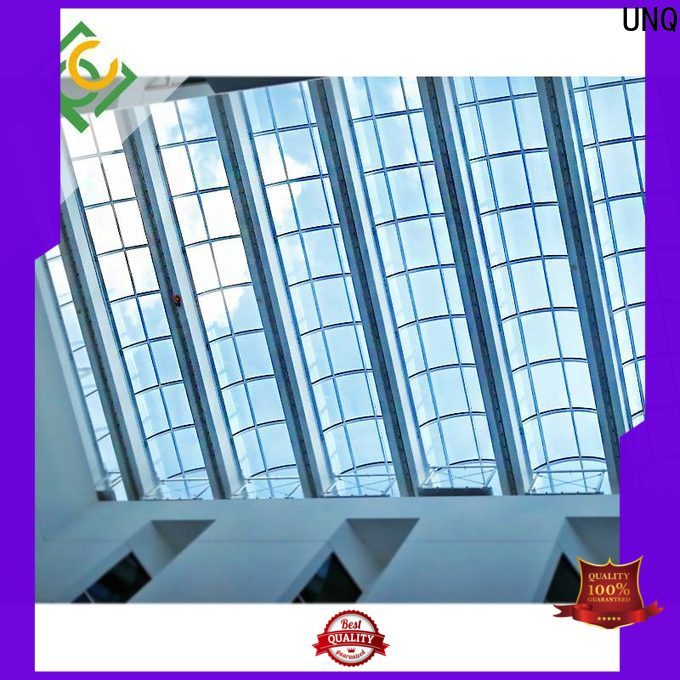 UNQ Custom polycarbonate flat roof panels manufacturers for LED panel board
