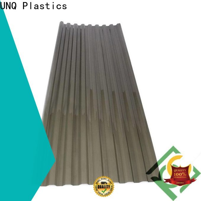 UNQ Top thick plastic sheets factory for food drying and ventilation building