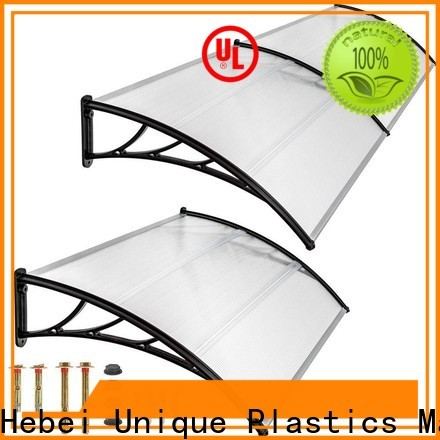 UNQ Top diy polycarbonate awning Suppliers for private garden