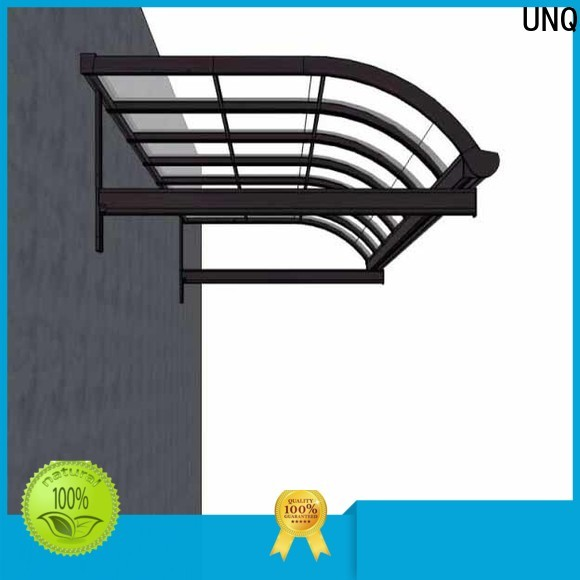 UNQ plastic canopy manufacturers for private garden