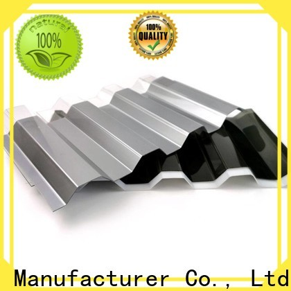 Top honeycomb polycarbonate sheet company for metal roof with lighting
