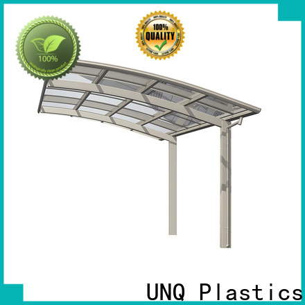 UNQ metal roof sheets price per sheet factory for private garden