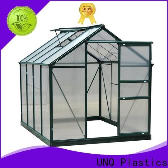 UNQ Latest transparent polycarbonate Supply for flower planting