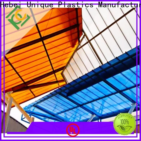 UNQ High-quality optix acrylic sheet for business for railway station and aviation overpass