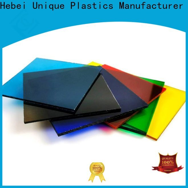 UNQ cleaning polycarbonate roofing sheets Supply for air transparent container