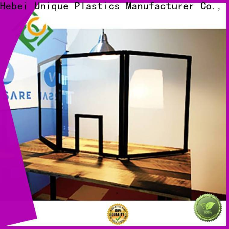 UNQ solid polycarbonate sheet specifications factory for air transparent container
