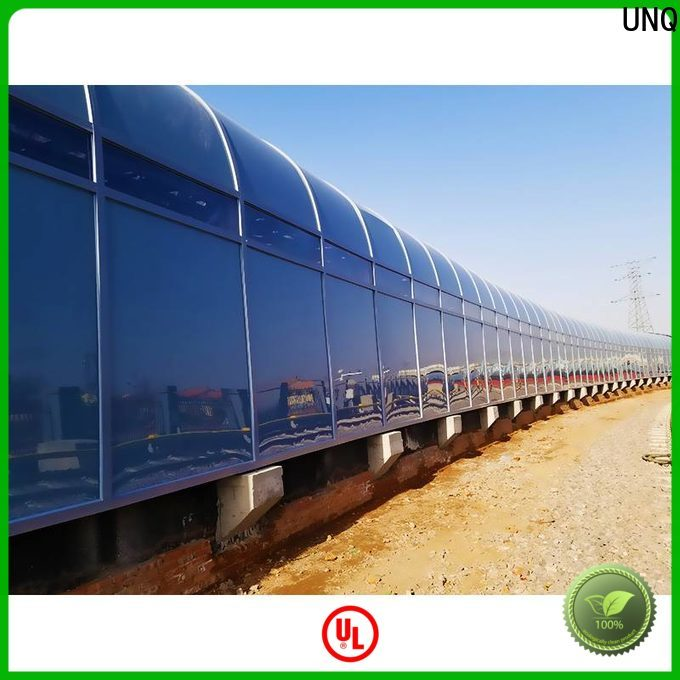 UNQ solid polycarbonate awning Supply for LED panel board
