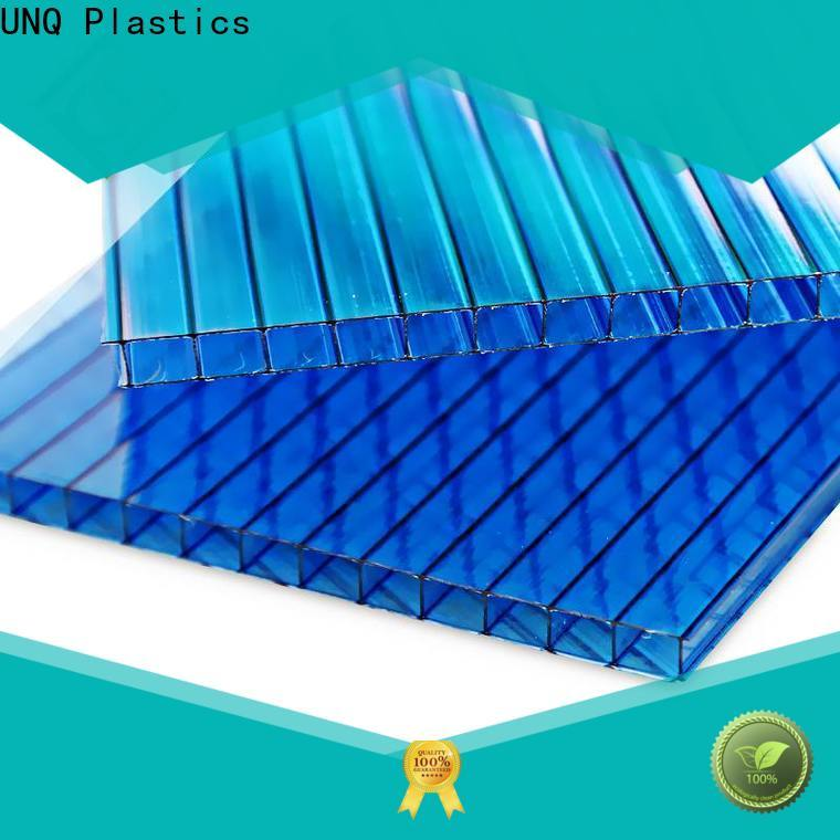 UNQ polycarbonate sheet cut to size for business for architectural lighting roof