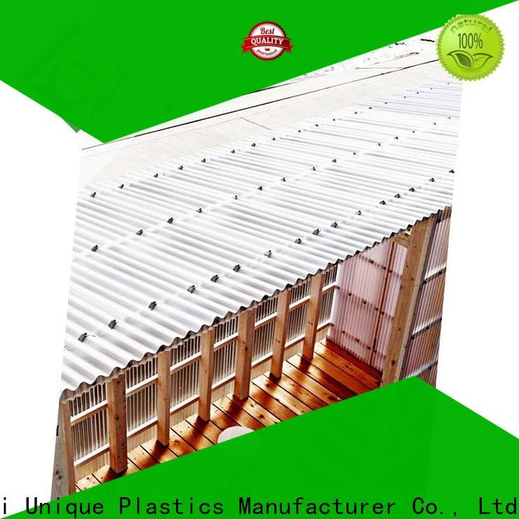 UNQ greenhouse plastic sheeting Supply for food drying and ventilation building