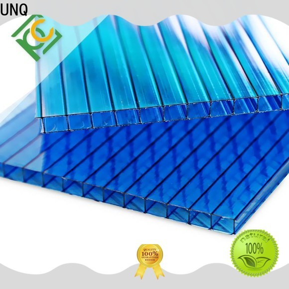 UNQ polycarbonate board Suppliers for railway station and aviation overpass