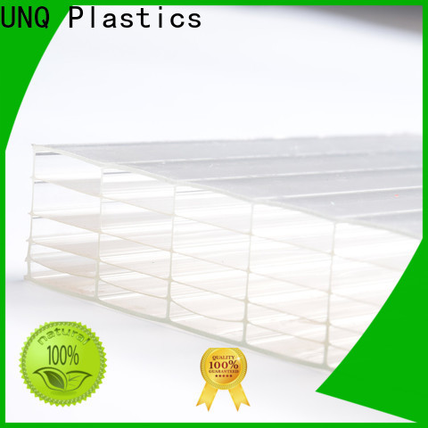 UNQ Custom polycarbonate sheet china for business for architectural lighting roof
