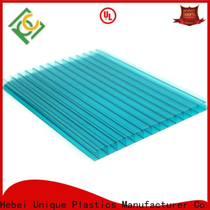 New lexan clear polycarbonate sheet factory for architectural lighting roof
