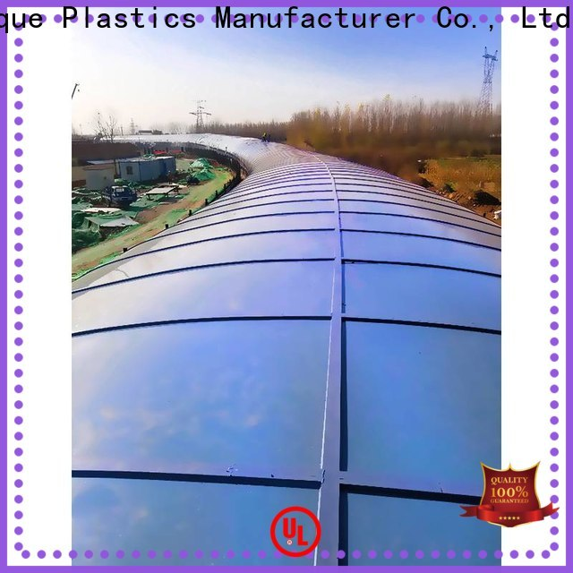 Wholesale colored polycarbonate panels Supply for office buildings