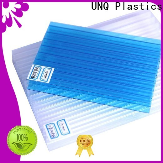 UNQ polypropylene sheet manufacturers for architectural lighting roof