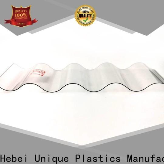 UNQ polycarbonate plastic for sale factory for commercial buildings