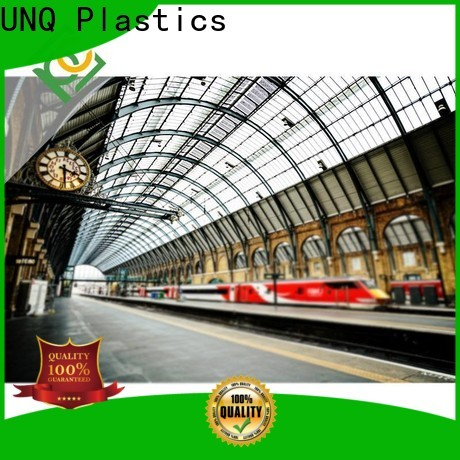 High-quality 10mm polycarbonate panels company for air transparent container