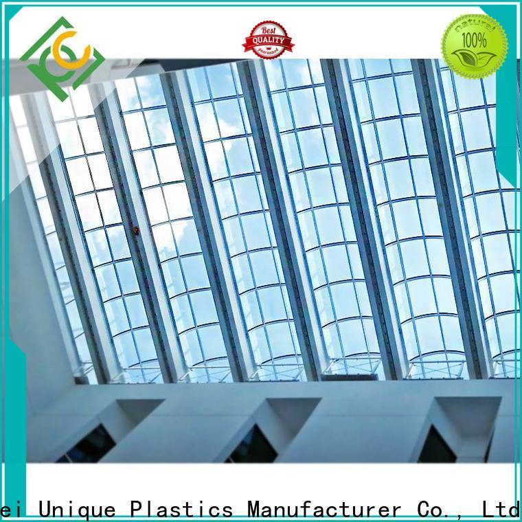 UNQ polycarbonate profile sheet for business for office buildings