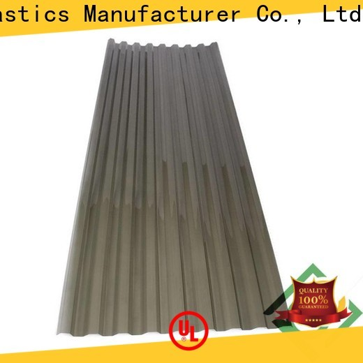 Top blue polycarbonate roofing sheets Supply for agricultural vegetable greenhouse
