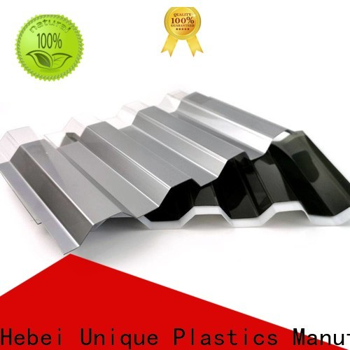 UNQ Custom multi layer polycarbonate sheet manufacturers for food drying and ventilation building