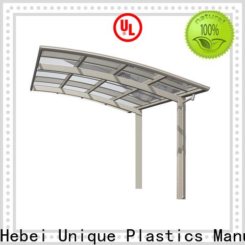 UNQ polycarbonate carport kits Supply for car park