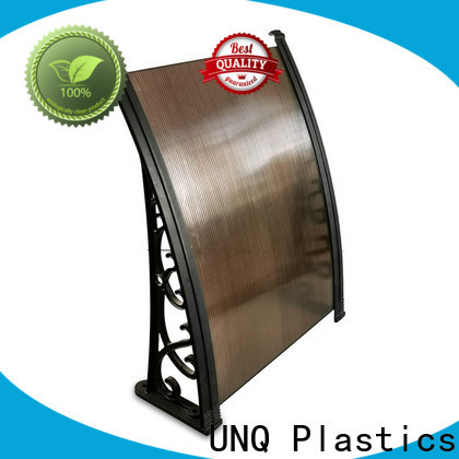 UNQ Wholesale harga awning polycarbonate Supply for villas