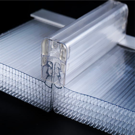 UNQ High-quality translucent polycarbonate plastic Supply for building interior decoration-1