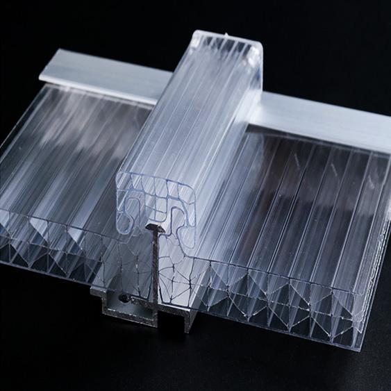 UNQ High-quality translucent polycarbonate plastic Supply for building interior decoration-2