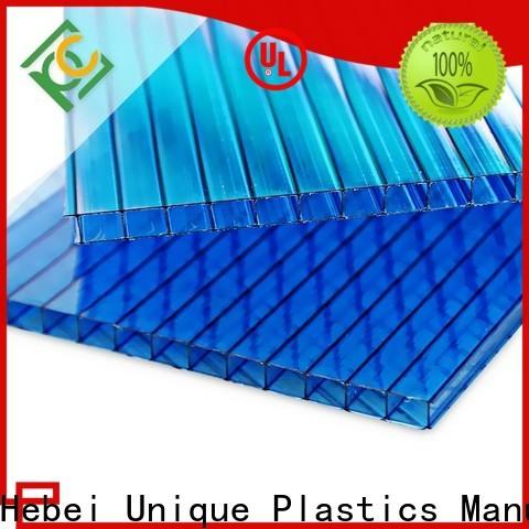UNQ Custom cellular polycarbonate panels Supply for architectural lighting roof