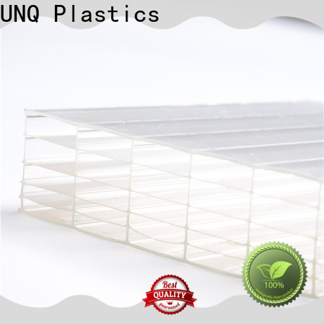 UNQ double wall polycarbonate panels Supply for architectural lighting roof