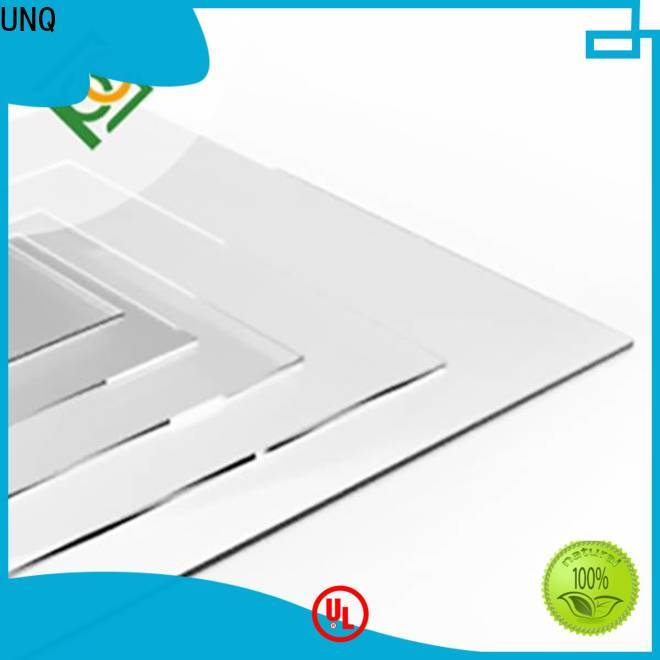 UNQ Top fitting polycarbonate sheets manufacturers for greenhouse