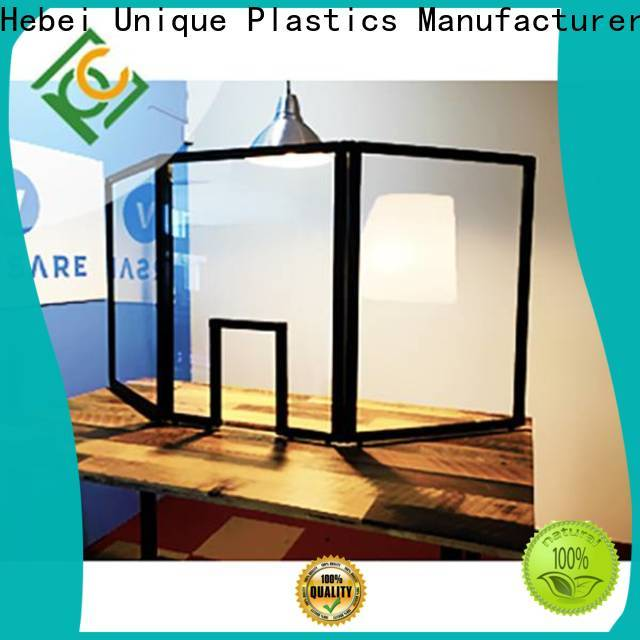 UNQ acrylic sheet vs polycarbonate factory for office buildings