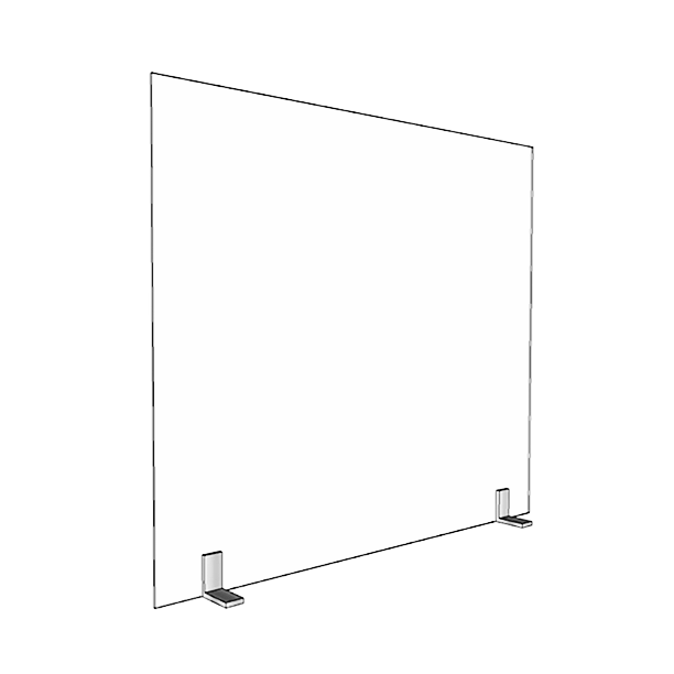 1/8″ thick Small 28″ x 24″Acrylic Divider