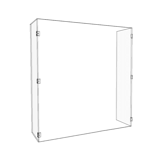 UNQ Custom polycarbonate sneeze guard factory for social use-1