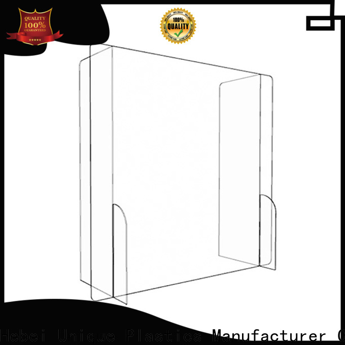 UNQ Wholesale sneeze guard for buffet table company for commercial use