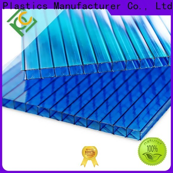 UNQ triple wall polycarbonate sheets manufacturers for building interior decoration