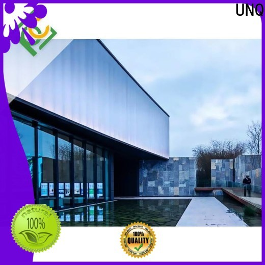 UNQ Top clear plastic panels Suppliers for architectural lighting roof